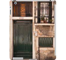 Una casa veneziana iPad Case/Skin