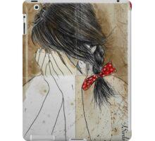 her little bow iPad Case/Skin