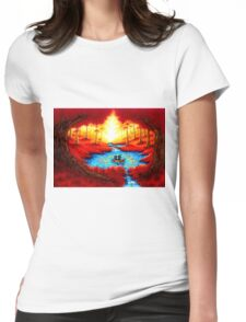 CIRCLE OF HOPE Womens Fitted T-Shirt