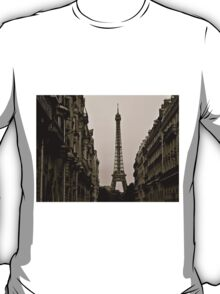 Paris, Step Back in Time T-Shirt
