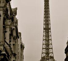 Paris, Step Back in Time Sticker