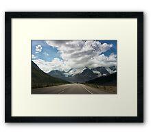Big Road, Big Sky Framed Print