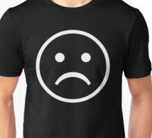 Sad Face (BLACK/WHITE) Unisex T-Shirt