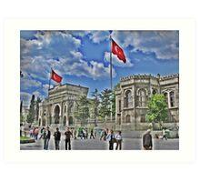 Istanbul University Art Print