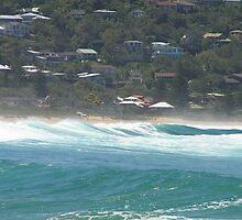 Australian Central Coast Beach by spottedmagpie