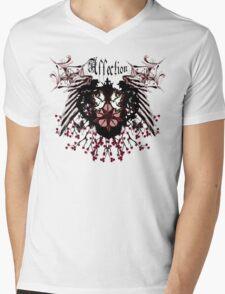 Affection Doves  Mens V-Neck T-Shirt