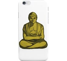 Buddha Statue Drawing iPhone Case/Skin