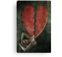 Slave To Love Canvas Print
