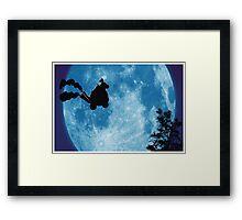 Bowser Jr. ET Framed Print