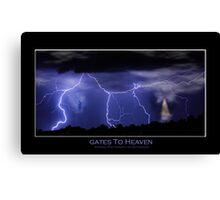 Gates to Heaven Color Poster Canvas Print