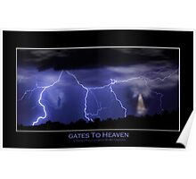 Gates to Heaven Color Poster Poster