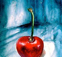 Cherries....Alone by ©Janis Zroback