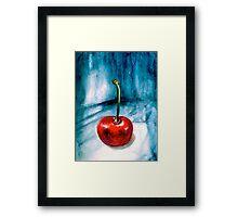 Cherries....Alone Framed Print