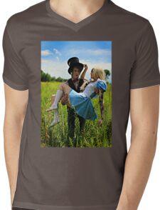 The Mad Hatter's Fantasy  Mens V-Neck T-Shirt