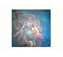 The Songstress Art Print