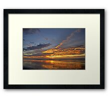 The Humid Haze of Summer Framed Print