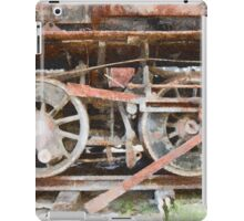 Rusting Train Wheels iPad Case/Skin