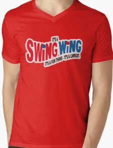 It's a Swing Wing, it's a fun thing Mens V-Neck T-Shirt