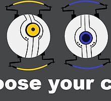 Portal- Choose your personality core! by AshenArt