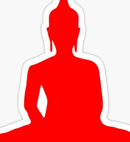 Buddha Silhouette Sticker