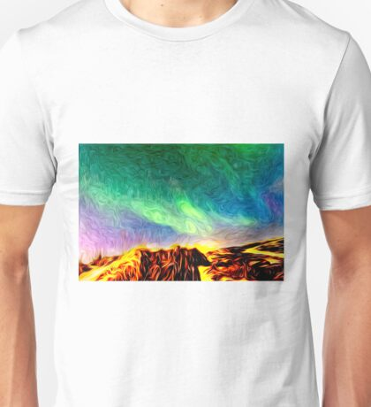 Land Of Fire And Ice Unisex T-Shirt