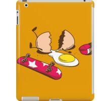 Egg+Skateboard iPad Case/Skin