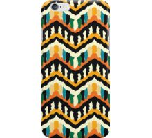 Colorful Zigzag Ethnic Pattern iPhone Case/Skin