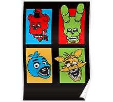 Five Night pop art Poster