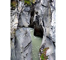 Maligne River Canyon(2) Photographic Print