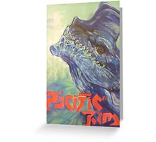 Otachi - Pacific Rim Poster Greeting Card