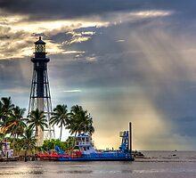 Hillsboro Lighthouse by Bill Wetmore