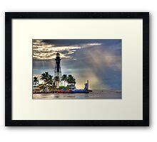 Hillsboro Lighthouse Framed Print