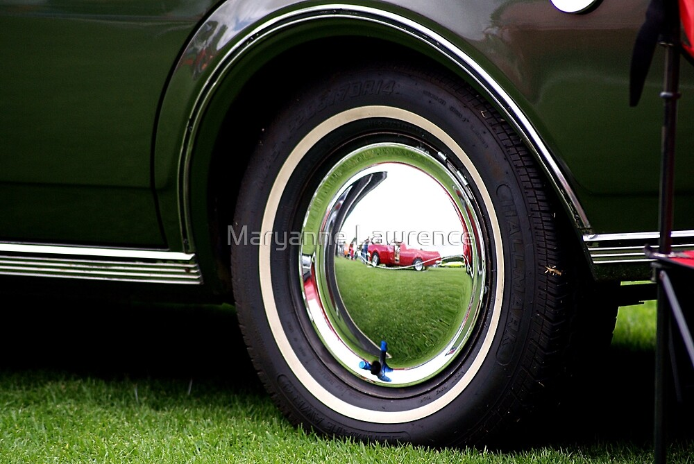 Ute Reflection by Maryanne Lawrence