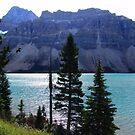Bow Lake (2) by Jann Ashworth