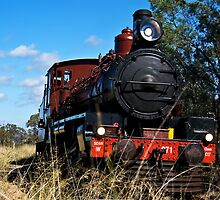 Restored C17 Locomotive by rossandcher