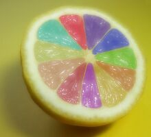 Squeeze me an Orange or lemon or Lime by SharonD