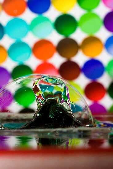 Bubbles and Drops 11 by Jay Stockhaus