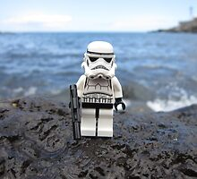 Dave Stormtrooper Tenerife at Beach by apawdesign
