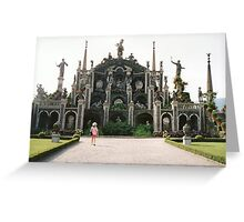 Isola Bella, Lago Maggiore, Italy, folly Greeting Card