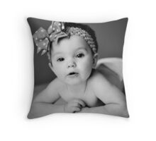 One Year Throw Pillow