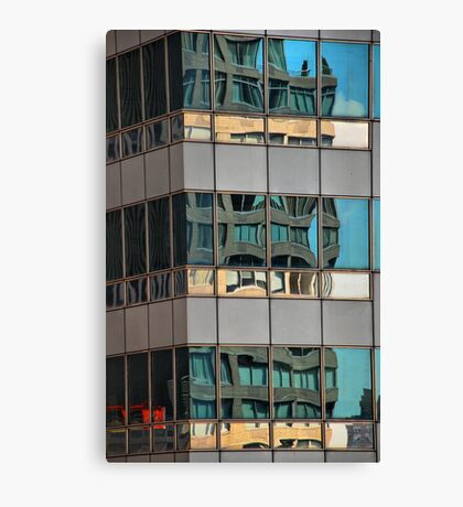 Building on Building Canvas Print