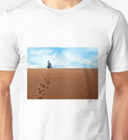 Leave only footprints behind  Unisex T-Shirt