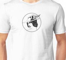Hermes B&W Unisex T-Shirt