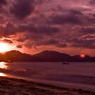 Penang Sunset 2010 by Darrell Kelsey