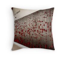 Roll of Honour Throw Pillow