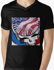 US Stealie Mens V-Neck T-Shirt