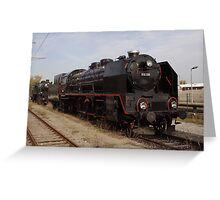 Steam Train BR 919.138 In Vienna, Austria Greeting Card