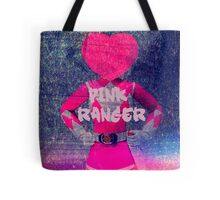 pink power ranger heart head Tote Bag