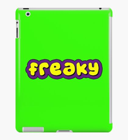 Freaky. iPad Case/Skin