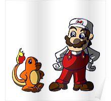Super Mario Pokemon Trainer! Poster